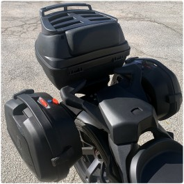 3-Piece Touring Saddlebag & Top Case Luggage System for the Can-Am Ryker