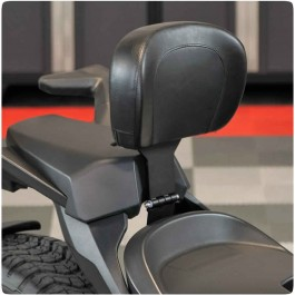 SpyderExtras Touring Edition Padded 2-Up Adjustable Driver Backrest for the Can-Am Ryker