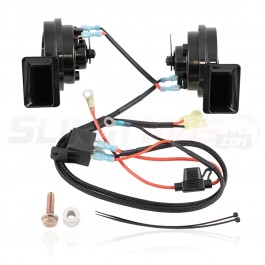 SpyderExtras Black Dual Horn Kit for the Can-Am Spyder F3
