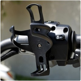 Plastic Bolt-On Handlebar Mount Drink / Cup Holder for the Can-Am Spyder (Ver 2.0)