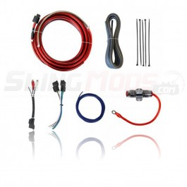 SSV Works Amplifier Wiring Kit for use with the SSV (WP-A360S4) 4-Channel Amplifier