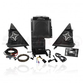 SSV Works Bluetooth Plug N Play 3-Speaker Stereo System for the Polaris Slingshot (2015-17)