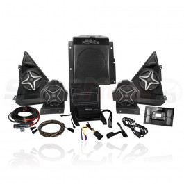 SSV Works Bluetooth Plug N Play 5-Speaker Stereo System for the Polaris Slingshot (2015-17)