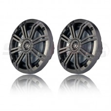 "Kicker KM Series 6.5"" Marine Coaxial Speakers (Set of 2)"