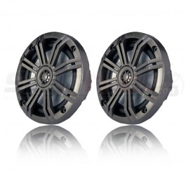 "Kicker KM Series 6.5"" Marine Coaxial Speakers for the Polaris Slingshot (Pair)"