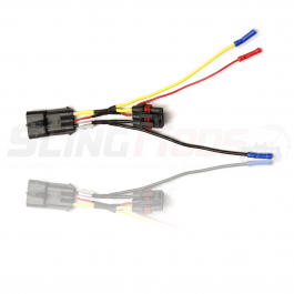 Aftermarket Stereo Power Wiring Harness for the Polaris Slingshot