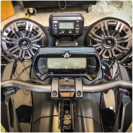 "SSV Works Kicker Bluetooth Dual 4"" 2-Speaker Audio System for the Can-Am Ryker"