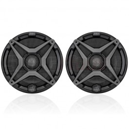 "SSV Works 6.5"" Marine Coaxial Speakers with Colored Grille Option (Pair)"