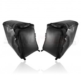 Status Racing Rear Storage Compartment Overnight Bags for the Polaris Slingshot (Pair)