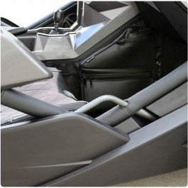 Status Racing Marine Vinyl Padded Side Frame Bar Covers for the Polaris Slingshot (Pair)