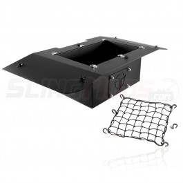 Thermal R&D Overhead Storage Bin with Cargo Net for the Raptor Roof Top System for the Polaris Slingshot