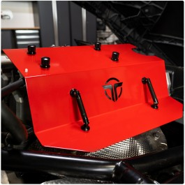 Thermal R&D Aluminum Coil Pack / Engine Cover for the Polaris Slingshot (2020+)