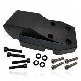 Billet Aluminum Adapter Plate for the Madstad Windshield & SSV Works Audio System for the Can-Am Ryker