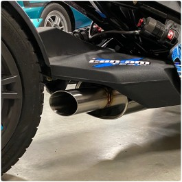 Treal Performance Exhaust System for the Can-Am Ryker