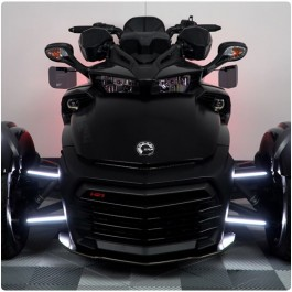 TricLED Dual Color LED A-Arm Running Light Strips with Blinker for the Can-Am Spyder (4 Pieces)