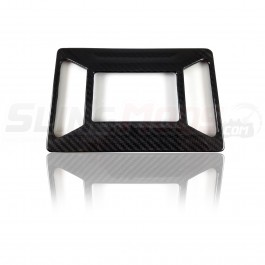 TricLine Carbon Fiber Media Face Plate Cover for the Polaris Slingshot (2015-17)