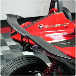Super Veloce GT Style Carbon Fiber Rear Wing / Spoiler for the Polaris Slingshot