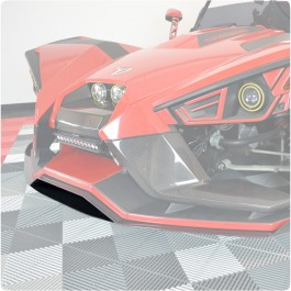 "TricLine Carbon Fiber Splitter ""Add On"" Piece for the Polaris Slingshot"