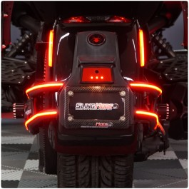 TricLED Afterburner Tail Light Strips for the Can-Am Spyder F3 / F3S (4 Piece Kit)