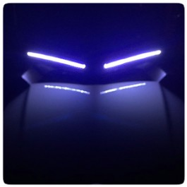 TricLED DRL White LED EyeBrow Light for the Can-Am Spyder F3 (Pair)