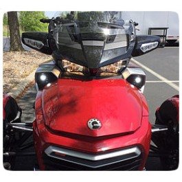 LED Fog Light Conversion Kit for the Can-Am Spyder F3 (Pair)
