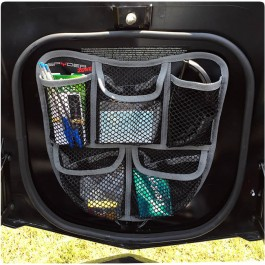 "TricLED 5-Pocket Mesh Front Trunk ""Frunk"" Organizer for the Can-Am Spyder F3"