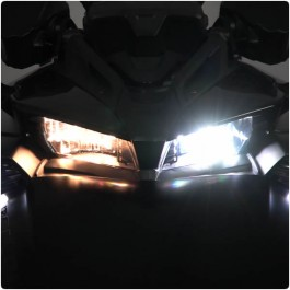 HD Elite LED Headlight Conversion Kit for the Can-Am Spyder F3 (Pair)