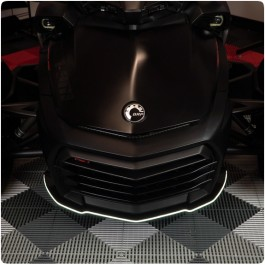 TricLED Front Splitter / Spoiler Guard with optional LED Strip for the Can-Am Spyder F3