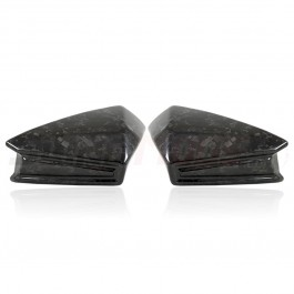 "TricLine ""Forged"" Carbon Fiber Side View Mirror Covers for the Polaris Slingshot (Set of 2)"