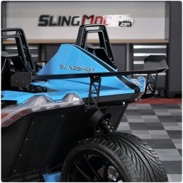 TricLine GT3 Style Adjustable Aluminum Rear Wing for the Polaris Slingshot