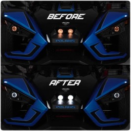 Elite LED HD 360 Headlight Conversion Kit for the Polaris Slingshot