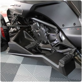 TricLED LUX Fiberglass Floorboards for the Can-Am Spyder F3 (Pair)
