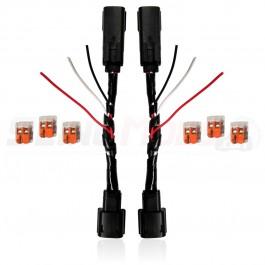 Plug N' Play OEM Blinker & Running Light Power Integration Harness for the Polaris Slingshot (Set of 2)