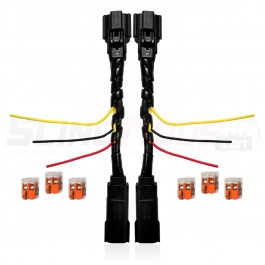 Plug N' Play OEM Blinker & Running Light Power Integration Harness for the Polaris Slingshot (Pair)