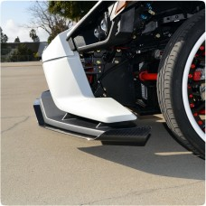 TricLine 3 Piece Carbon Fiber Splitter with Canard for the Polaris Slingshot