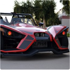 TricLED Demon Eyes LED Accent Kit for the Polaris Slingshot with Remote