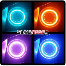 TricLED RGB Halo LED Kit for the Polaris Slingshot with Remote