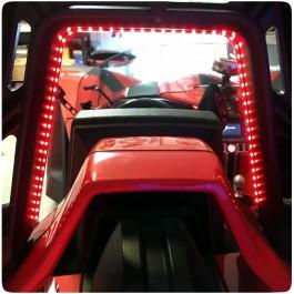 TricLED Roll Hoop LED Brake / Running Light for the Polaris Slingshot (Pair) (2015-2020)