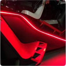 TricLED SideLinez Smoked LED Side Accent Strips for the Polaris Slingshot (Pair)
