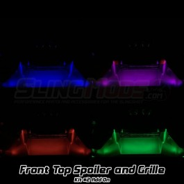 Kit #2 RGB Front Spoiler / Grille Underglow LED Add-on for the Polaris Slingshot