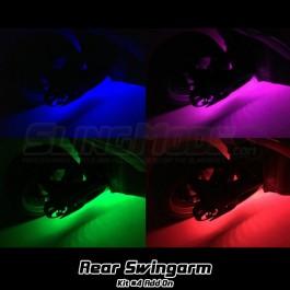 Kit #4 Standard RGB LED Swingarm Underglow Add-on Kit for the Polaris Slingshot