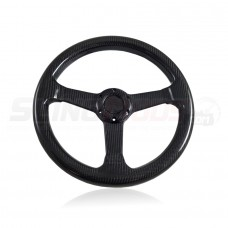 TricLED Carbon Fiber Steering Wheel for the Polaris Slingshot