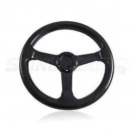 TricLED Carbon Fiber Steering Wheel for the Polaris Slingshot