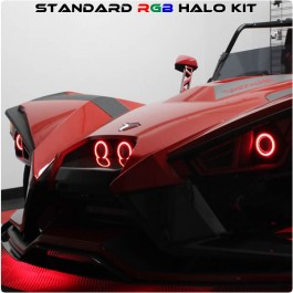 TricLED Standard RGB Halo LED Kit for the Polaris Slingshot with Remote (2015-19)