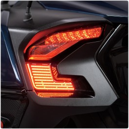 TricLED Afterburner LED Run / Brake / Turn Signal Tail Lights for the Can-Am Spyder RT (2020+)