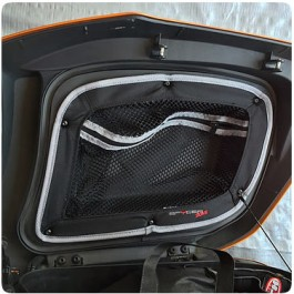 TricLED Rear Saddlebag Pockets for the Can-Am Spyder RT (3 Piece Kit)