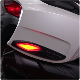 TricLED Saddlebag Red LED Running Light Safety Reflectors for the Can-Am Spyder RT (Set of 2) (2010-19)