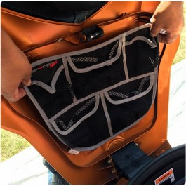 "SpyderZone 5-Pocket Mesh Front Trunk ""Frunk"" Organizer for the Can-Am Spyder RT / ST / GS / RS"