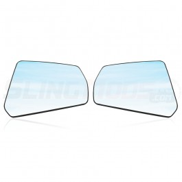 Peel & Stick Wide-Vu Convex Side View Mirrors for the Can-Am Spyder RT (Pair)