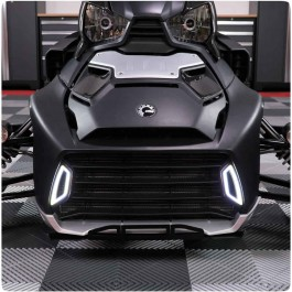 Plug N' Play Front Grille LED Running Light Inserts for the Can-Am Ryker (Set of 2)